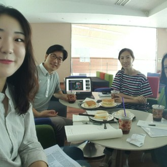2nd Good Morning Meeting @ Coffeebean, KAIST
